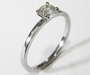 diamond ring, etsy, and birthday gift image