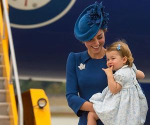 kate middleton, princess charlotte, and duchess of cambridge image