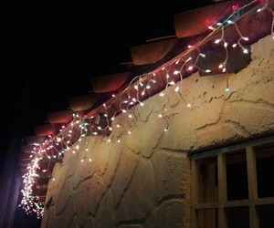 luces and navidad image