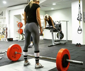 fitness, healthy, and strong image