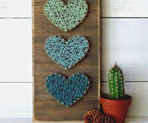 diy, heart, and idea image