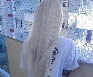 hair, white, and grunge image