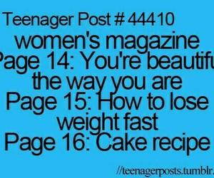 funny, teenager post, and magazine image