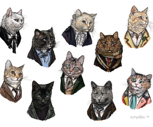cat and doctor who image