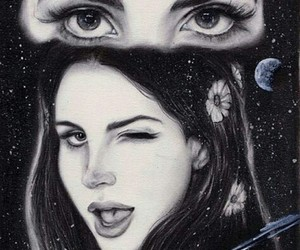 lana del rey, drawing, and love image