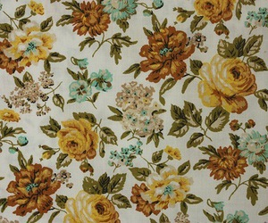 flowers, vintage, and floral image
