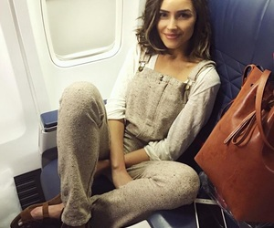 fashion, airplane, and outfit image