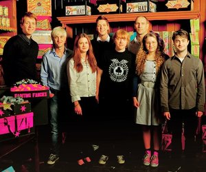 harry potter, bonnie wright, and daniel radcliffe image