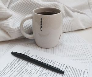coffe and pencil image