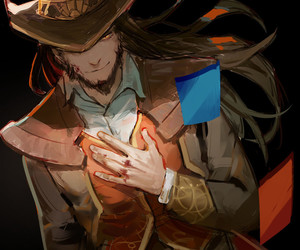 cards, league of legends, and digital art image