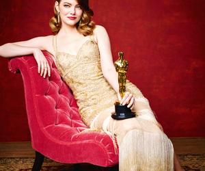 actress, emma stone, and oscars image