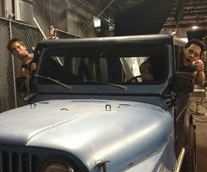 jeep, teen wolf, and orny adams image