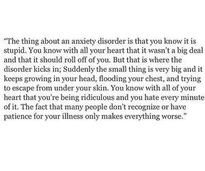 anxiety, mental illness, and sad image