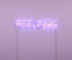 feelings, purple, and aesthetic image