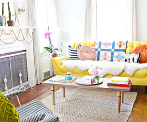 colourful, interior design, and home image