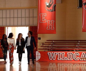 HSM, high school musical, and vanessa hudgens image