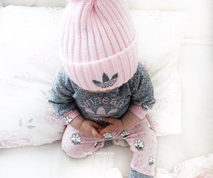 adidas, baby, and hat image