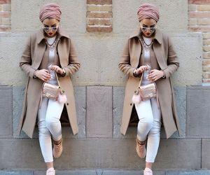 fashion, hijab, and turban image