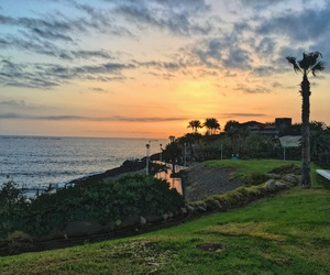 sunset, tenerife, and vacation image