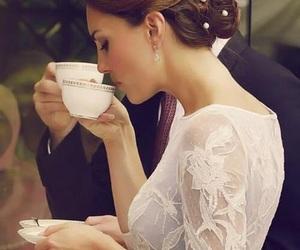 kate middleton, tea, and princess image