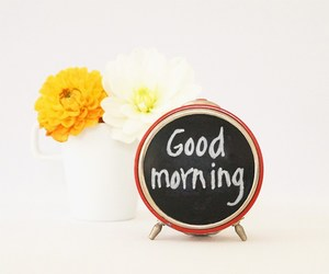 alarm clock, upcycling, and chalkboard image