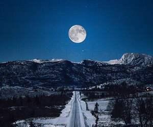 blue, sky, and snow image