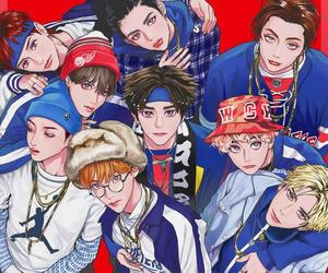 ot9, nct fanart, and nct 127 image