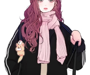 pretty and scarf image