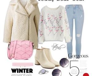 coat, shoes, and fashion image