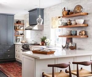 beautiful, kitchen, and design image