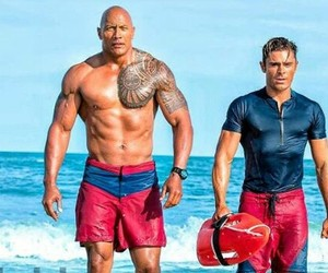 zack efron and the rock image