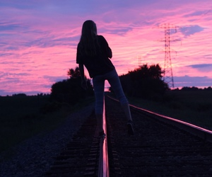 beuty, girl, and grunge image