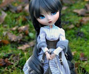 Blanc, blue eyes, and custom image
