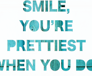 smile, pretty, and text image