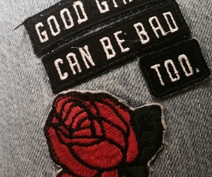 bad girls, flores, and good girls image