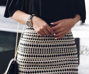 blouse, nails, and outfit image