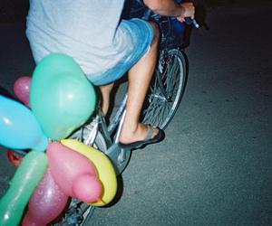 bike, boy, and color image