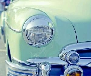 car, vintage, and mint image