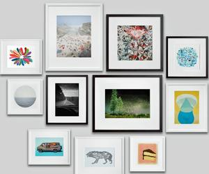 home decor, picture frames, and gallery wall image