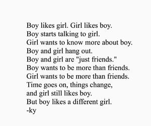 boy and girl, boy girl, and boy meets girl image