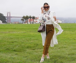 fashion, hijab, and outfit image