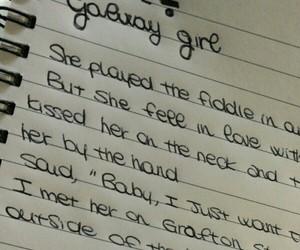 divide, Lyrics, and galway girl image
