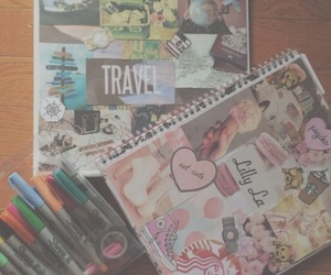 diy, notebook, and sharpies image