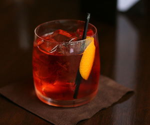 alcohol, campari, and cocktail image