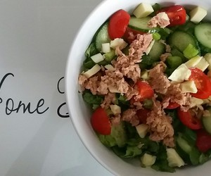 healthy, home, and lunch image