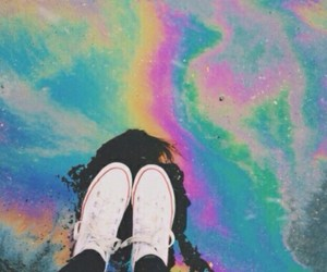 colors, hipster, and shoes image