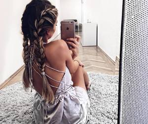 beauty, braids, and fashion image