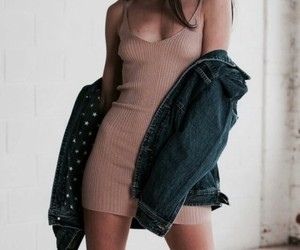 dress, girl, and indie image