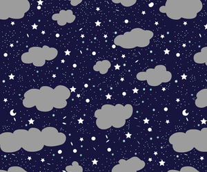 background, clouds, and night image