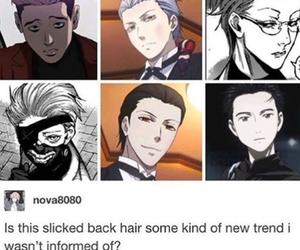 anime, sebastian, and yuri on ice image